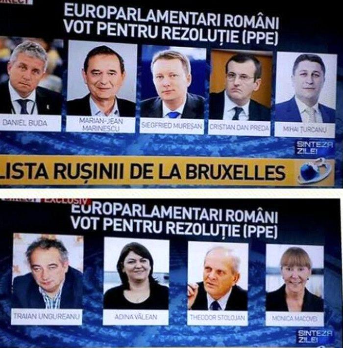 Imagini pentru LISTA EUROPARLAMENTARILOR ROMANI CARE AU VOTAT MCV-UL ,POZE